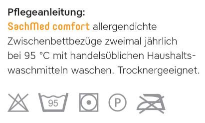 Pflegeanleitung für SachMed comfort Zwischenbettbezüge